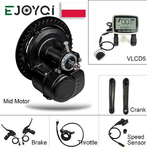 Tongsheng Tsdz2 Ebike Mid Drive Motor Kit 36V 250W 48V 500W E Bike Electric Bike