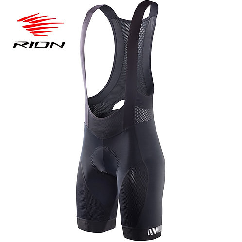 RION Cycling Bibs Shorts Mountain Bike Breathable Men's Gel Padded