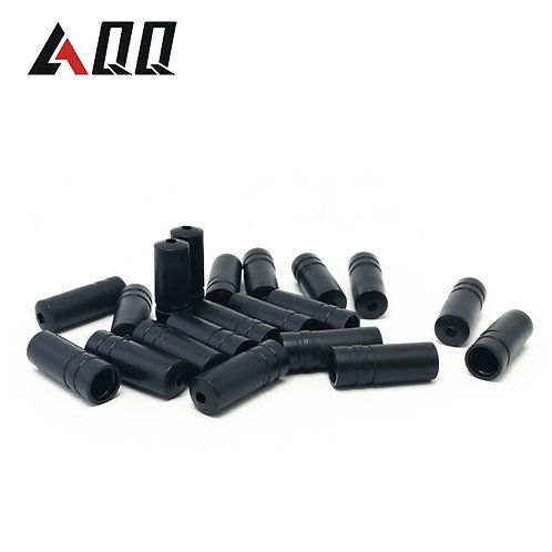 100/50Pcs Bike Bicycle Brake Gear Outer Cable End Caps Tips Crimps 4MM Plastic B