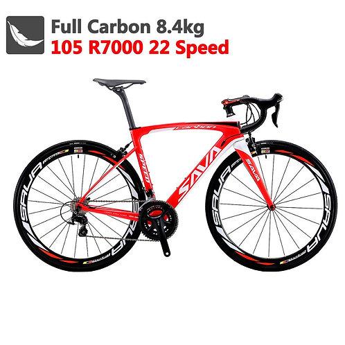 Carbon Road Bike 700C  8.4kg Bicycle With Shimano 105 R7000 Racing Bike
