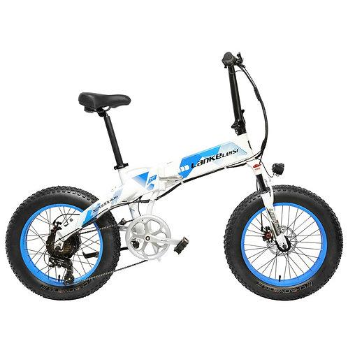 20 Inch Folding MTB 1000W 48V 14.5Ah Lithium Battery E-Bike 5 Level Pedal Assist