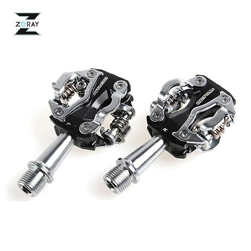 ZERAY MTB Mountain Bike Self-Locking Pedals Cycling Clipless Pedals Aluminum All