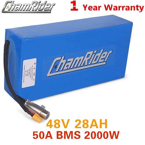 Original 48V 20AH Ebike Battery 48V Battery for Electric Bike 50A 2000W Battery
