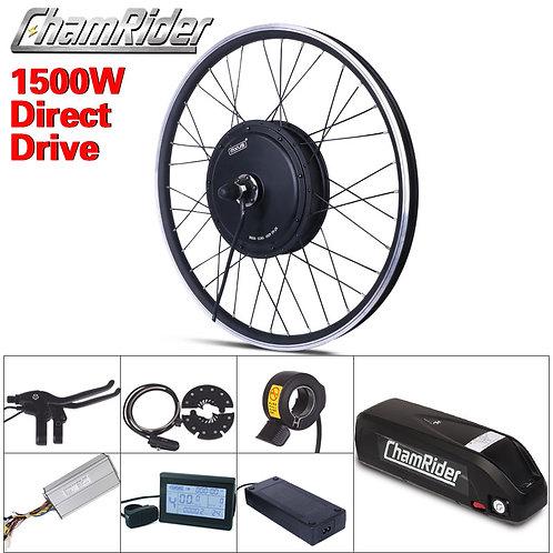 Free Shipping 1500W E-Bike Electric Bike Conversion Kit Driect Drive Motor MXUS