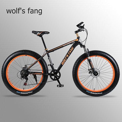 "Wolf's Fang Bicycle Mountain Bike Road Bike Aluminum Alloy Frame 26x4.0"" 7/21/24"