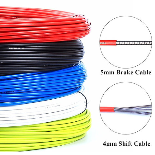 3m Wire for Bicycle Bike Shifters Derailleur Brake Cables Shift Cable Tube 4mm