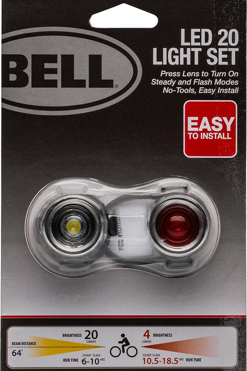 Bell® 20 Lumen Bicycle Light Set