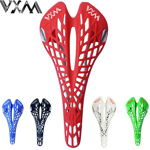 VXM Bicycle Saddle Road Bicycle Mountain Bike Saddle Cycling Breathable Spider E