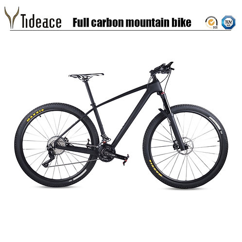 "Carbon Fiber MTB Mountain Bike 33s 30s 22s 11s Single Speed 29"""