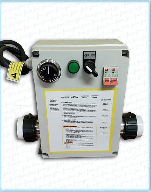 Sistema de Calentador Eléctrico  11,000 Whatts