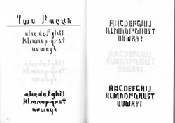 Typeface Scan