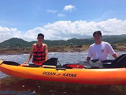 High School kayaking trip in Samara, Guanacaste, Costa Rica