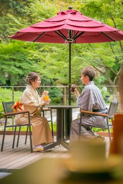 湯河原美術館のカフェ and garden MUSEUM CAFE