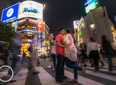 "Shibuya Shooting - ""Kissing & Crossing"""