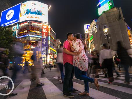 """Shibuya Shooting - """"Kissing & Crossing"""""""