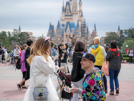 Tokyo Disneyland Proposal Photo Shooting