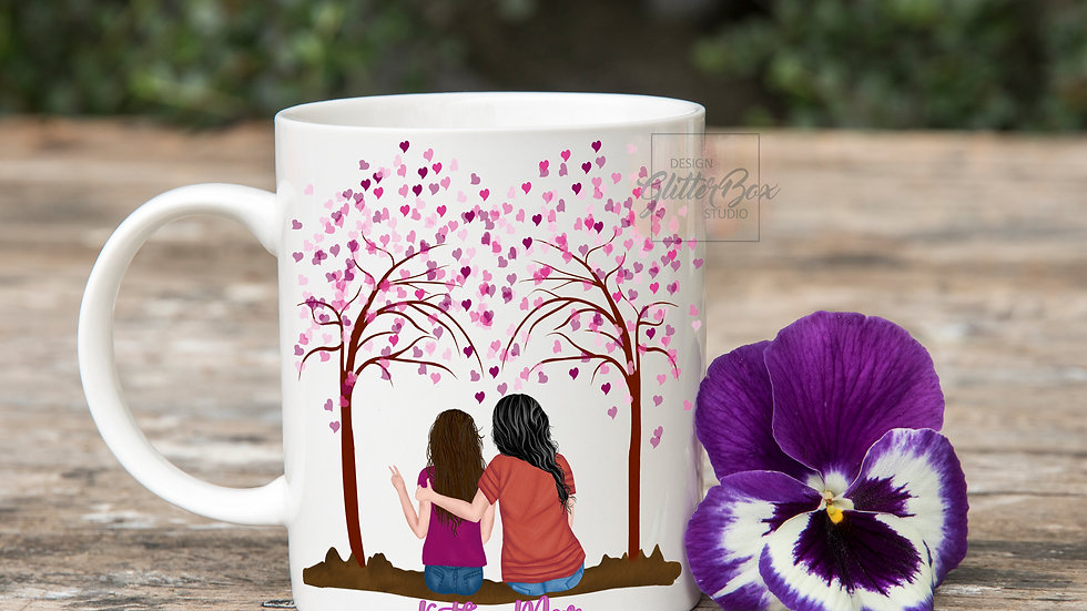 Mother's Day Mother and Daughter Mug collection