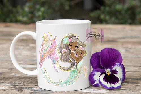 Mother's Day Mugs - Mermaid series