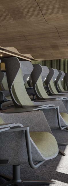 Sky Seats im Hamburger Ding