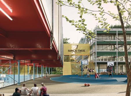 Quartierssporthaus Wilhelmsburg: ein neues Zuhause für die Hamburg Towers