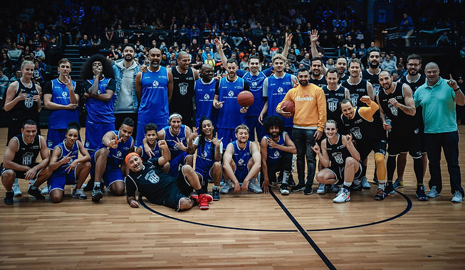Ein Foto des Basketballteams Hamburger Towers