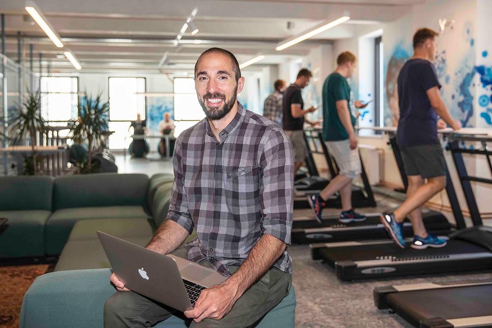 WORKout Zone im Hamburger Ding, dem sportlichsten Coworking Space auf dem Kiez