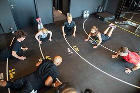 Sportkurs in der Towers Zone im Hamburger Ding: gesündester und sportlichster Coworking Space