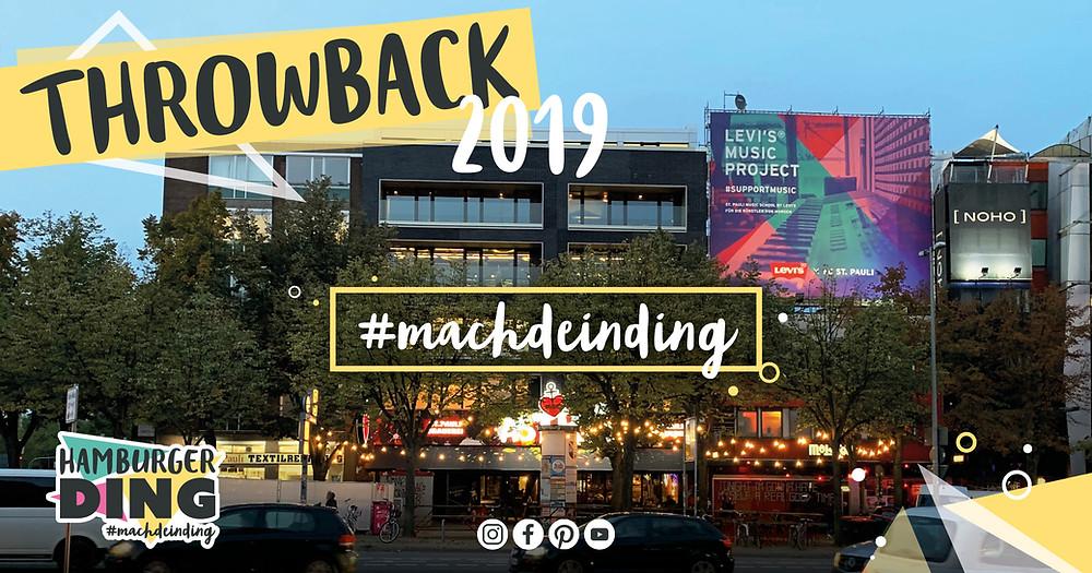 Die Highlights 2019 aus dem Hamburger Ding, dem coolsten Coworking Space auf dem Kiez