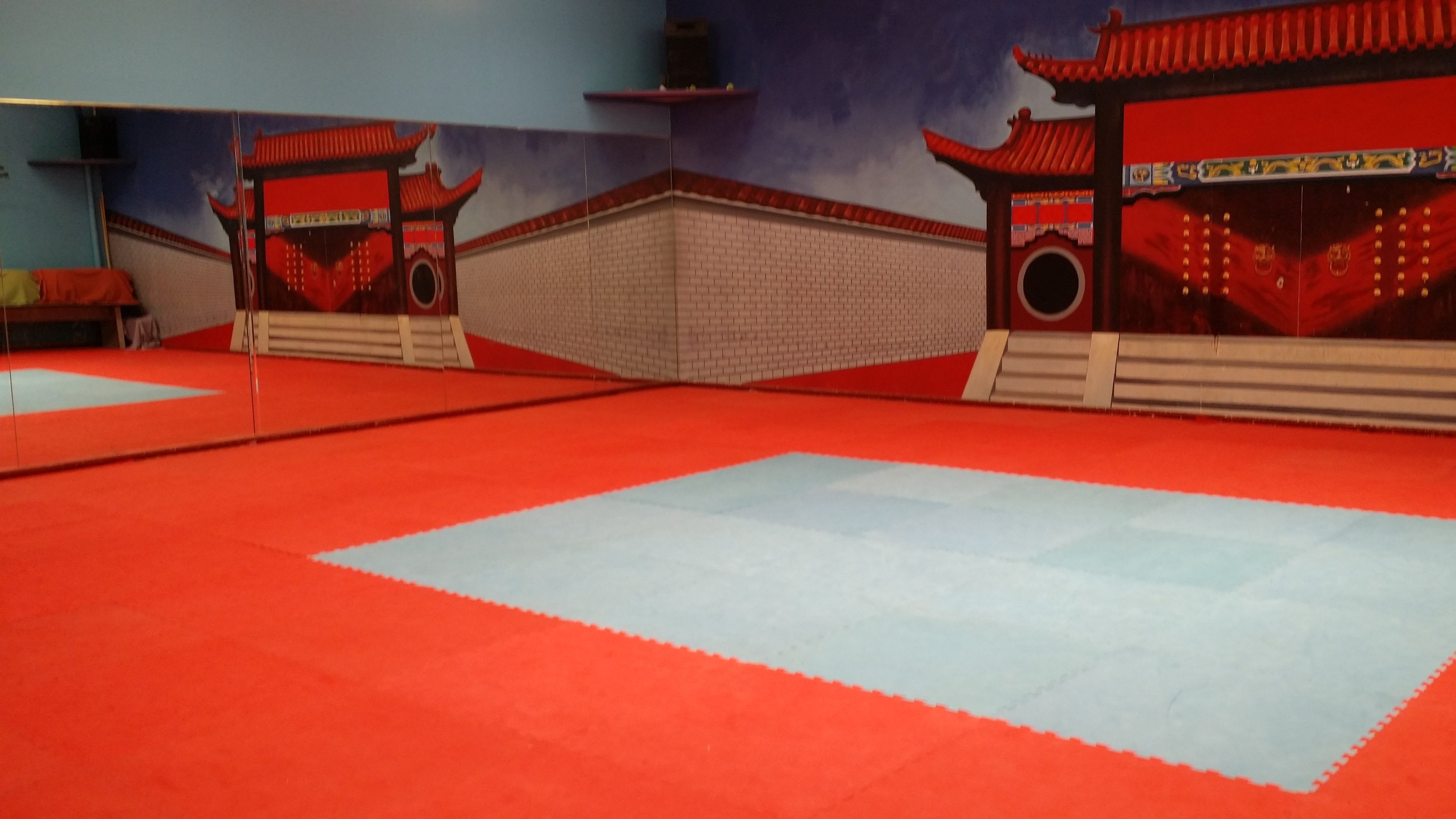 Kids Tumbling Area