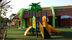 Huge Outside Playground