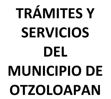 Catalogo de Trámites y Servicios