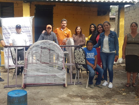 Conclusión de rehabilitación casa completa para la C. María Osorio Mendoza conocida como Argelia