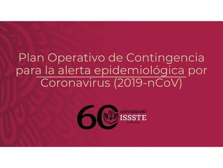 Plan Operativo De Contingencia Pará la Alerta Epidemiológica Por Coronavirus (2019-nCoV)Plan Operati
