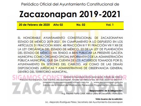 PRESUPUESTO DIFINITIVO DE EGRESOS E INGRESOS PARA EL EJERCICIO FISCAL 2020, ADMINISTRACIÓN 2019-2020