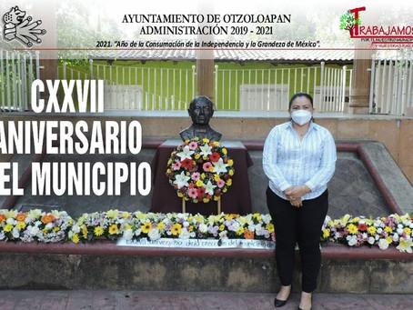127 Aniversario de Otzoloapan