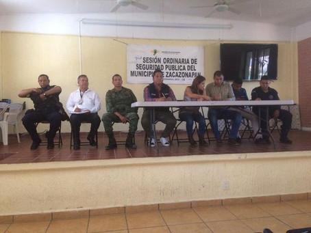 Sesión Seguridad Pública y Recorridos de Obras.