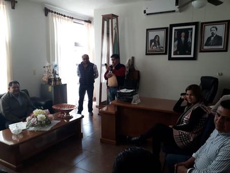 Presentacion ante la C. Laura Castelán Hernández