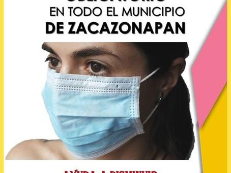 USO DE CUBREBOCAS OBLIGATORIO