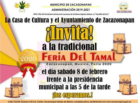 Feria del Tamal Zacazonapan 2020