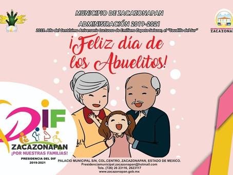 Invitación a todos los abuelitos