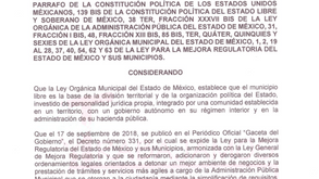 REGLAMENTO MUNICIPAL DE LA MEJORA REGULATORIA