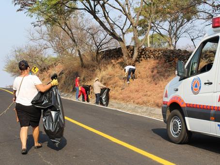 Jornada de limpieza en todo el municipio de Zacazonapan