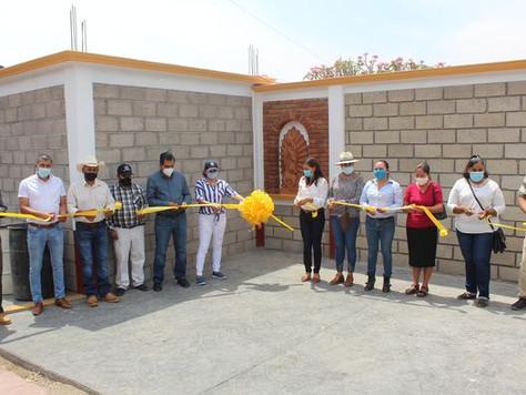 Entrega de Rehabilitación del Panteón Municipal.