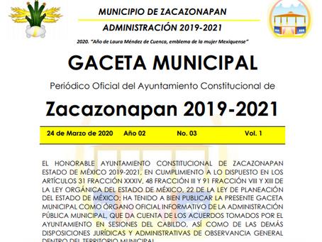 Atlas de Riesgos del Municipio de Zacazonapan