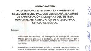 Convocatoria Para Renovar e Integrar la Comisión de Selección Municipal