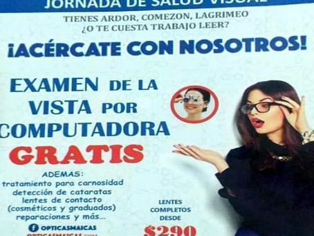 JORNADA DE SALUD VISUAL.