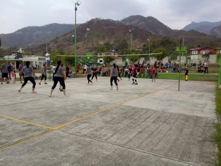 Gran final de torneo de voleibol