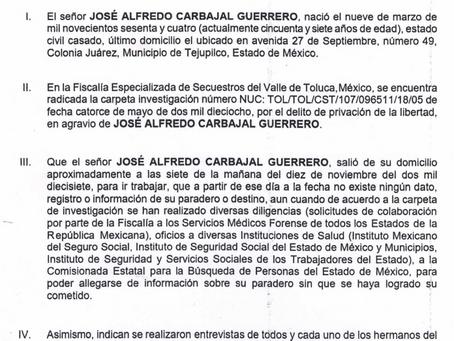 Juzgado Familiar en Línea del Estado de México, en el Expediente 447/2021