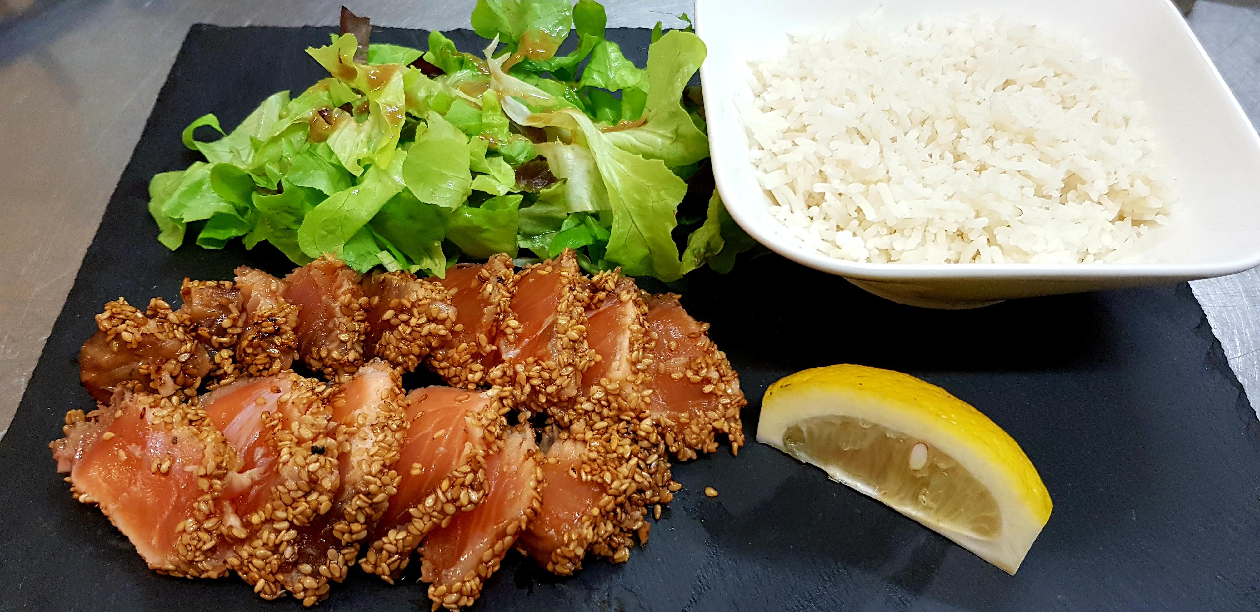 Tataki saumon La Caz'amis