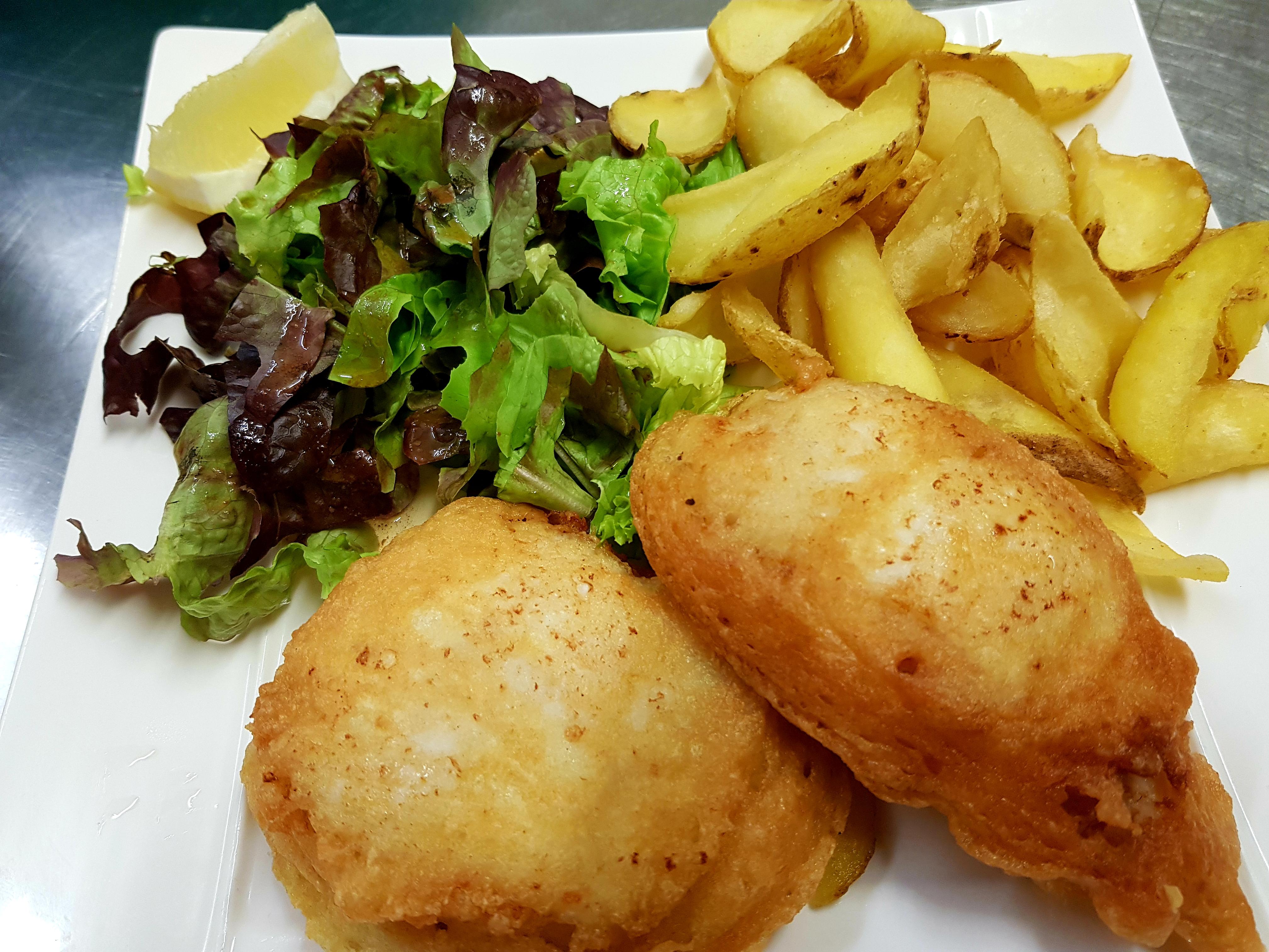 Fish and chips La Caz'amis